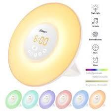 tecboss bedside l wake up light tecboss bedside l wake up light w sunrise simulation alarm clock