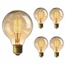 kingso vintage edison bulb 60w incandescent antique dimmable light