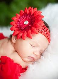 baby flower headbands so precious i i a girl one day so i can use these