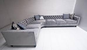 Velvet Sectional Sofa Hollywood Sectional In Mystere Casper Velvet By Modshop Love Of