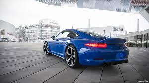 porsche carrera 2016 2016 porsche 911 carrera gts club coupe club blau rear hd