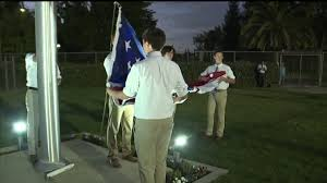 Eagle Scout Flag Eagle Scout Cadet Honors Local Veteran With Flag Pole Memorial