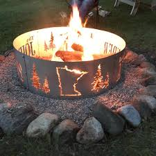 custom fire rings images Enchanting minnesota fire pit decor custom mn on rings ataa jpg