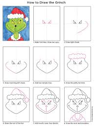 draw the grinch grinch tutorials and school