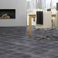 Krono Original Laminate Flooring Nero Stone 8mm Tile Effect Laminate Flooring