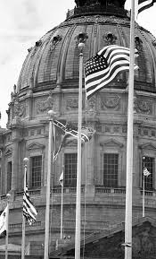 Flag Flown Over White House When A Confederate Battle Flag Flew In Front Of Sf City Hall San
