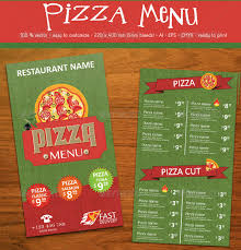 pizza menu template 25 free psd eps documents download free