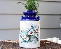 White Ceramic Jug Vase Jug Vase Etsy
