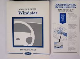2000 ford windstar owners manual guide book bashful yak