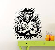 horse wall mural promotion shop for promotional horse wall mural wolverine poster wall art sticker superhero dc marvel comics vinyl decal home interior decoration dorm studio teen bedroom mural