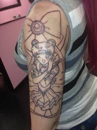 woman goes in for tiny tattoo gets giant u0027sailor moon u0027 sleeve
