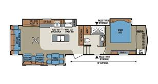 shop rvs by floor plan options veurinks u0027 rv bunk house rear