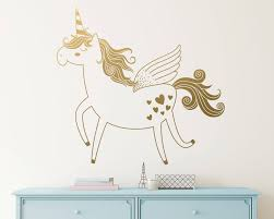 Removable Wall Decals Nursery by Unicorn Wall Decal Vinyl Wall Decal Unicorn Decal Kids