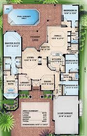 mediterranean floor plans modern mediterranean blend 66005gw architectural designs