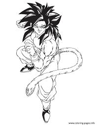 cartoon dragon ball bardock coloring coloring pages printable