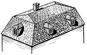 architecture exciting mansard roof with dormer for exciting