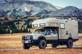 ford earthroamer xv hd let this beastly backcountry camper from earthroamer take you to