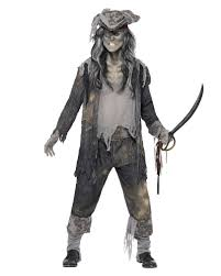 ghost pirate costume creepy privateer horror shop com