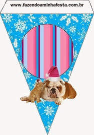 dogs and cats in christmas free party printables is it for