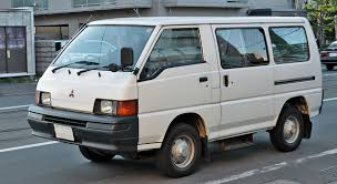 mitsubishi old models mitsubishi van from jackie chan u0027s 1984 film meals on wheels jdm