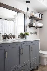 bathroom cabinets pictures diy framed mirror tutorial bathroom