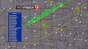 Cold Front Map Cold Front Pushing Through Oklahoma Thursday With Scattered Show