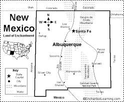 map of new york enchanted learning new mexico map quiz printout enchantedlearning