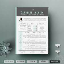resume template cv template cover letter for word 4 page