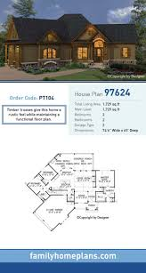 plan 70552mk rustic country home with wrap around porch floor