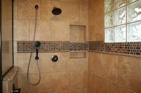 Bathroom Shower Wall Tile Ideas Homely Ideas Shower Wall Tile Design Wall Accent Simple Shower