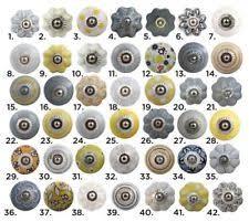 pomelli vintage maniglie pomelli in ceramica per porte ebay