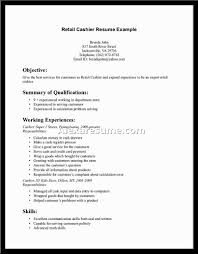 Cashier Resume Supermarket Cashier Resume Skills Put Application Letter For