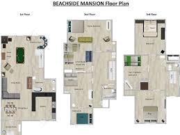 Twin Home Floor Plans Historic Daytona Beach Mansion In The Homeaway Surfside