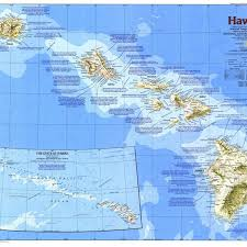 us map w alaska where is hawaii located on the map map of usa