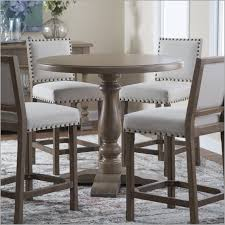 round counter height table set impressive outstanding round counter height table decorative 550177