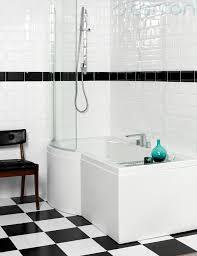 carron urban compact 5mm acrylic shower bath 1500 x 900mm