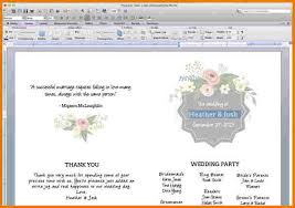 wedding ceremony program template word free wedding program templates word authorization letter pdf
