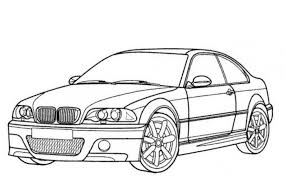 bmw m3 car coloring pages printable free cars coloring