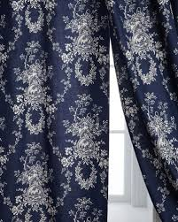 Navy And White Drapes Curtain Sheer Curtain All Curtains U0026 Hardware At Neiman Marcus