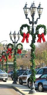 Christmas Decorations Street Lights by