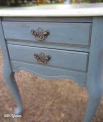 Contact Paper Desk Makeover Lizzi U0027s Creations End Table Makeover