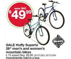 bike sales black friday huffy superia 26 inch men u0027s and women u0027s mountain bikes deal at