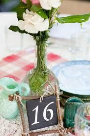 numero table mariage 105 idées décoration mariage fleurs sucreries et bougies