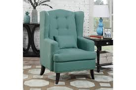 Navy Blue Accent Chair Contemporary Furniture Bedroom Discount Living Room Inexpensive