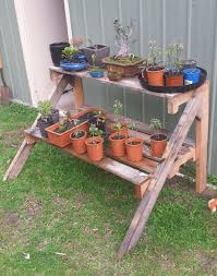plant stand herb garden stand 1001pallets com pallet plants for