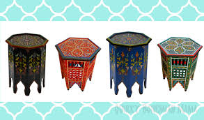 moroccan tea table stand quirky bohemian mama frugal bohemian lifestyle blog colorful