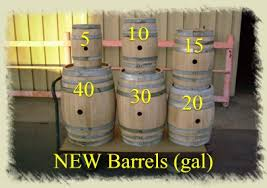 wine barrel planter barrel used wine barrels half wine