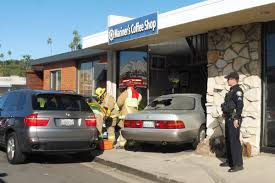 lexus service huntington beach no injuries reported after lexus smashes into newport beach coffee