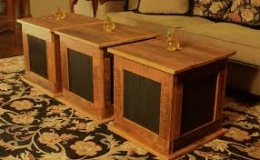 wood cube end table coffee table convertible wood cube accent tables vivaterra mirrored