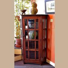 Red Corner Cabinet Rare L U0026jg Stickley Corner Cabinet For Sale Daltons Decorative Arts